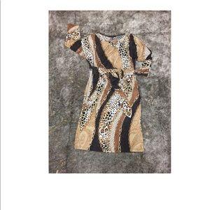Tiana B gorgeous animal print dress!